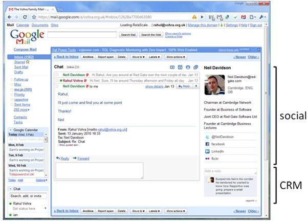 Convierte tu Gmail en un sencillo CRM
